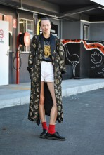 Streetstyle. Mercedes-Benz Fashion Week Australia (фото 6) превью