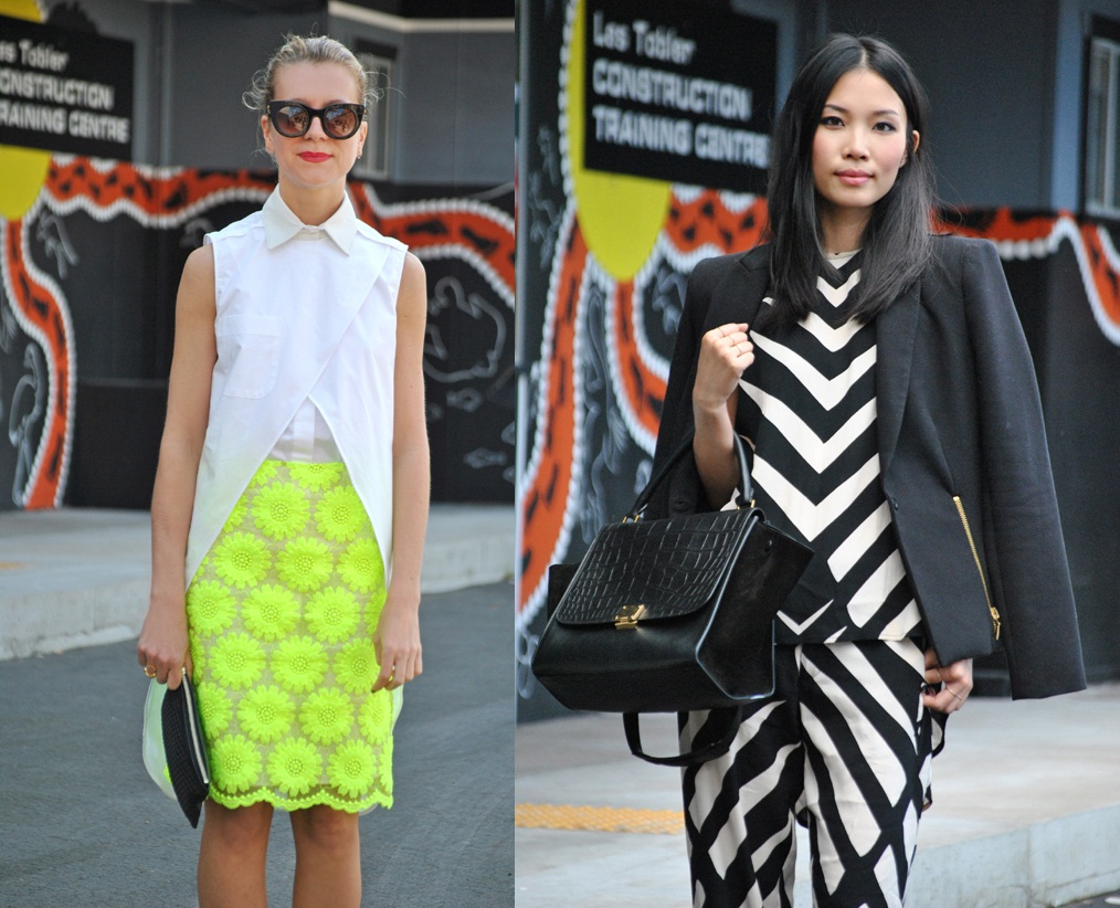 Streetstyle. Mercedes-Benz Fashion Week Australia (фото 1)