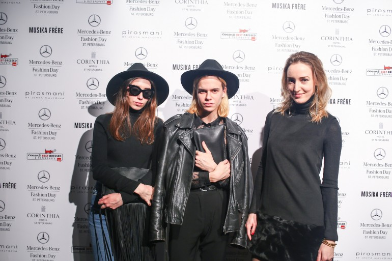 Pirosmani Mercedes-Benz Fashion Day St Petersburg 2015