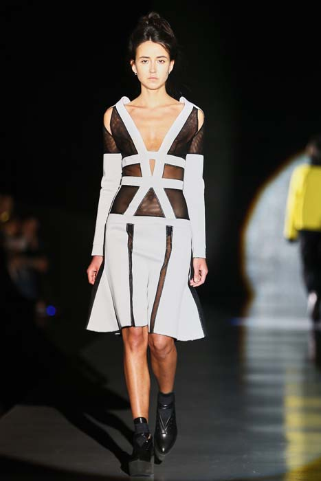 PIROSMANI BY JENYA MALYGINA show during the Mercedes-Benz Fashion Week Russia Autumn/Winter 2015/16